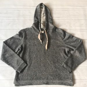 H&M women's medium long sleeve hooded pullover